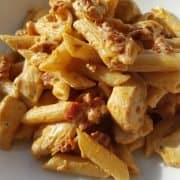 Chicken and chorizo pasta recipe