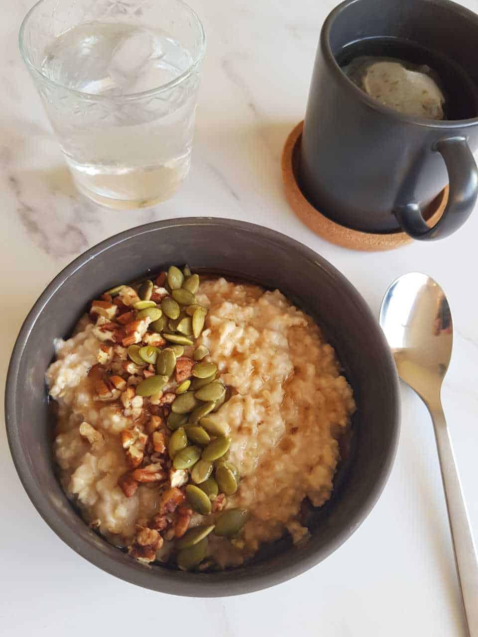 Maple oatmeal