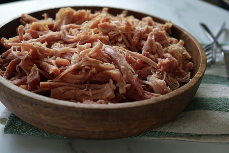pulled ham
