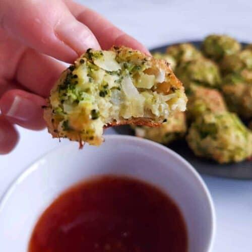 Broccoli cheese balls.