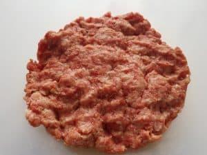 ground beef and pork mixture.