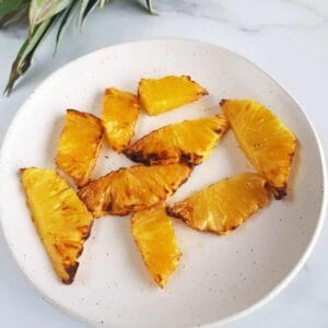 Air fryer pineapple