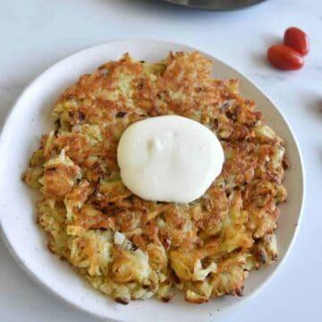 Potato pancakes draniki.