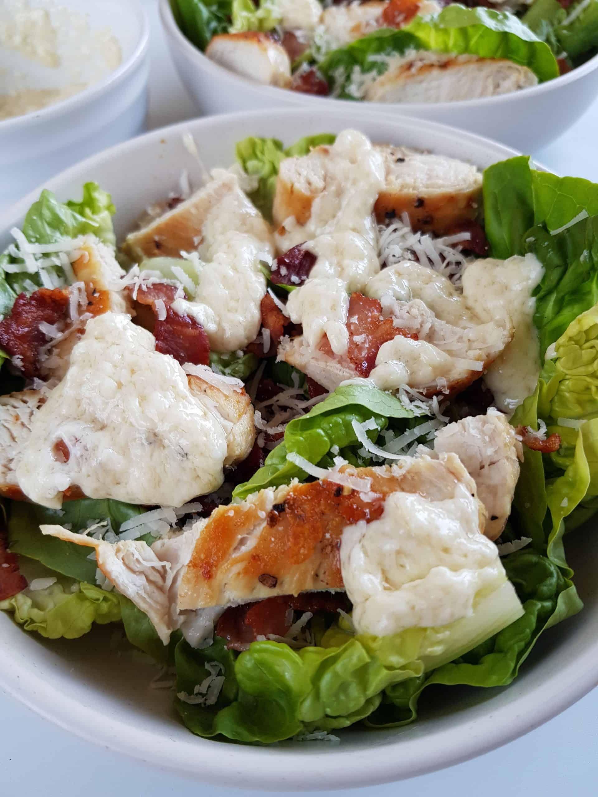 bacon caesar salad.