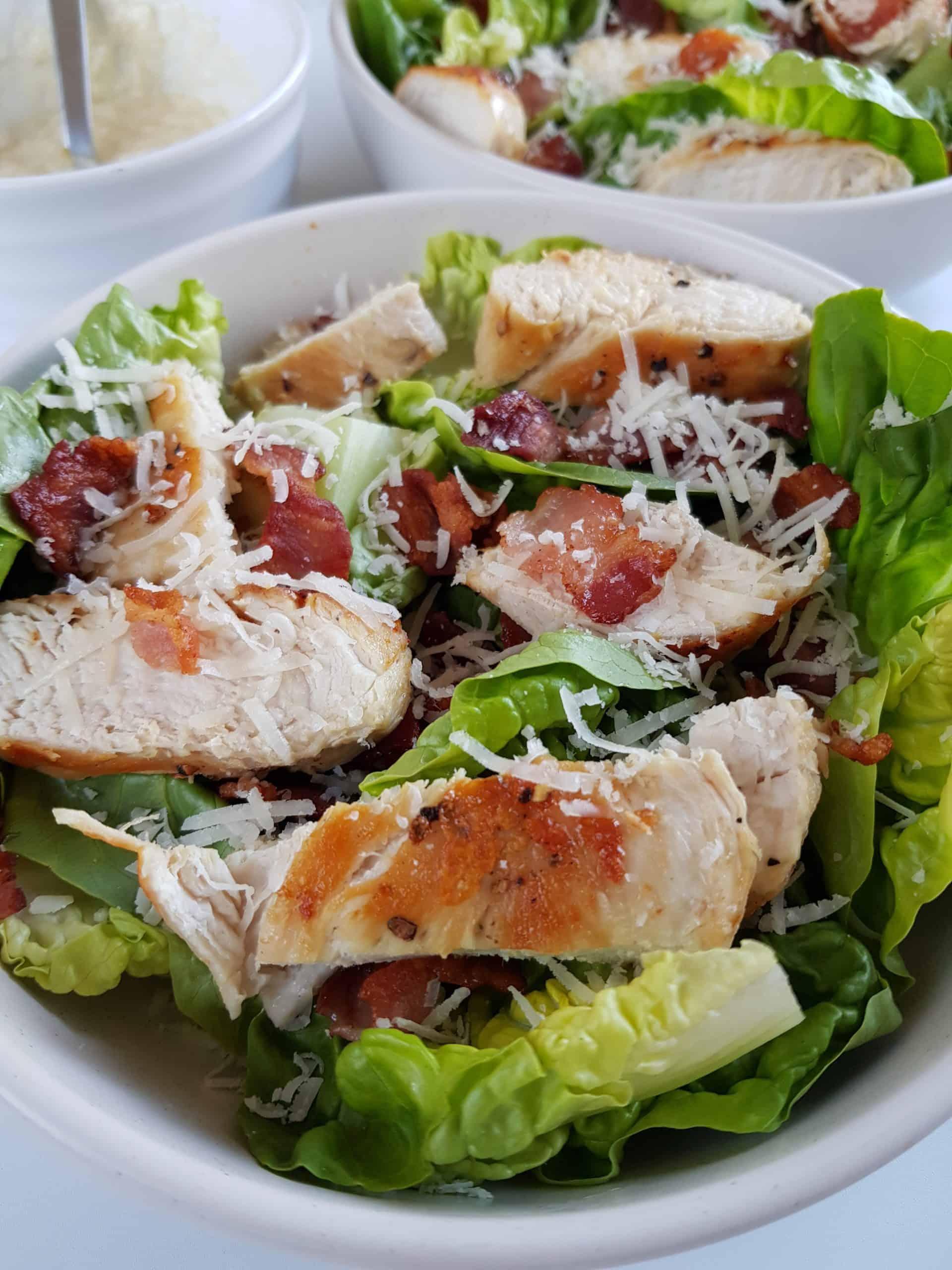 bacon chicken salad.