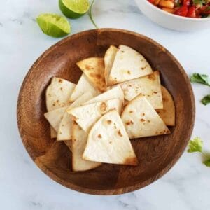 Air Fryer Tortilla Chips.
