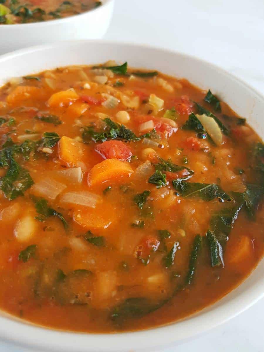 Bean soup Tuscan.
