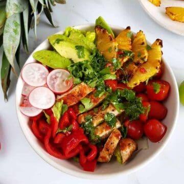 Hawaiian chicken salad.
