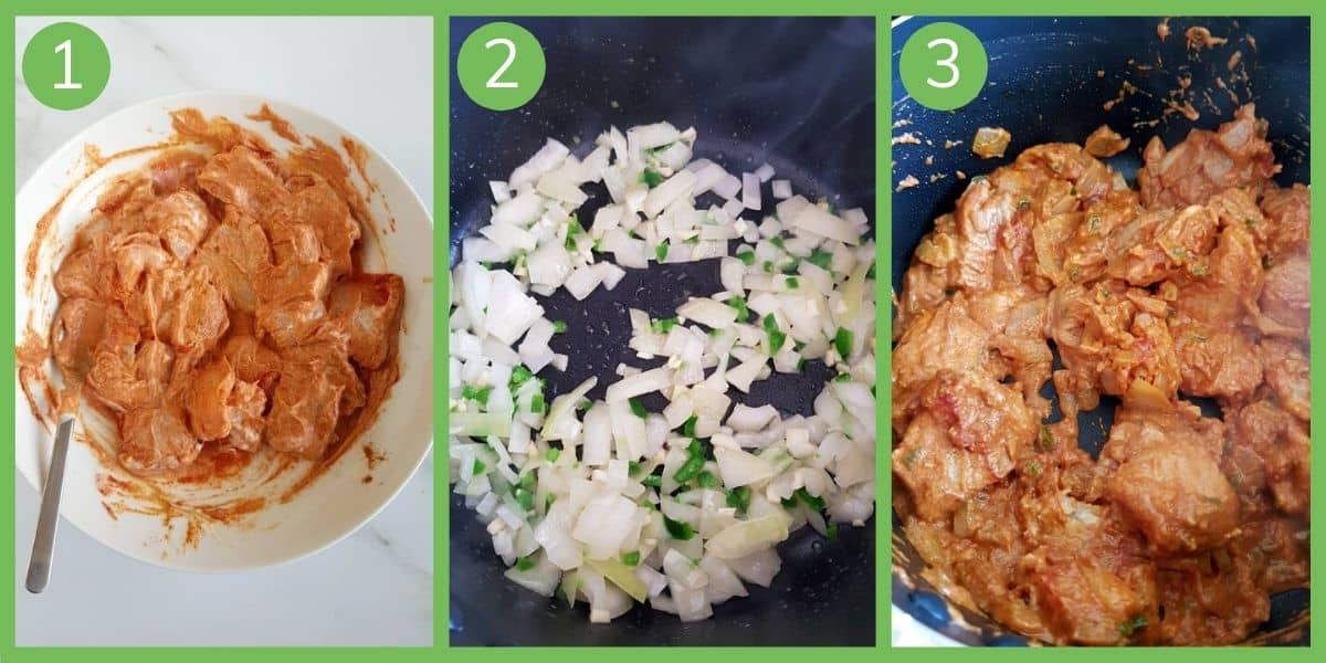 How to make basa fish curry.
