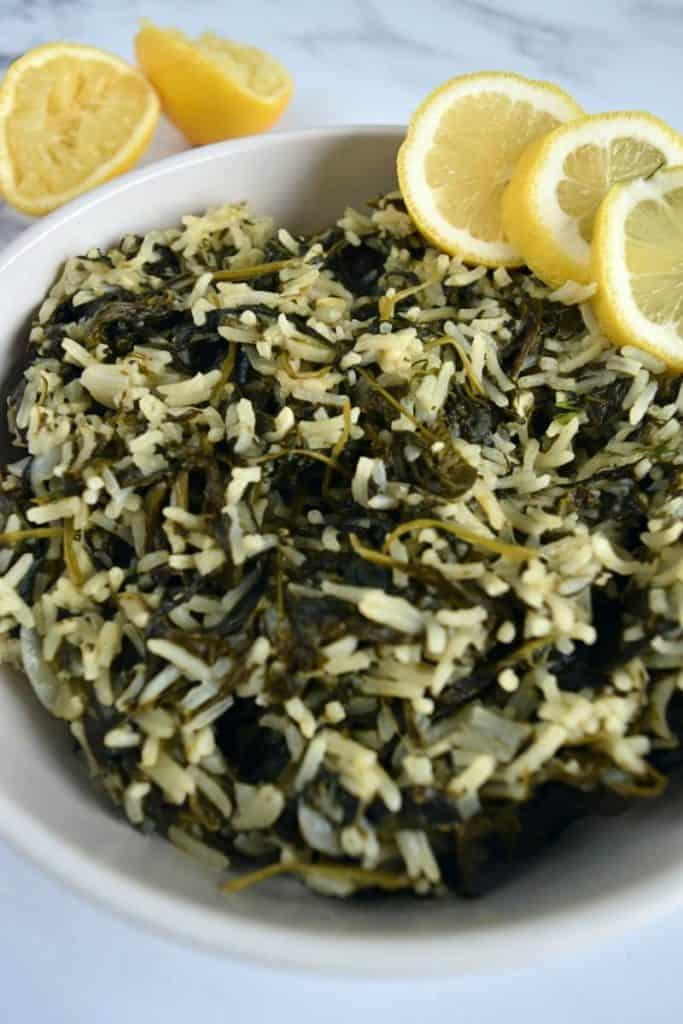 Lemon-and-Spanakorizo.