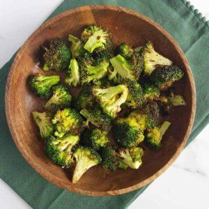 Air Fryer Broccoli.