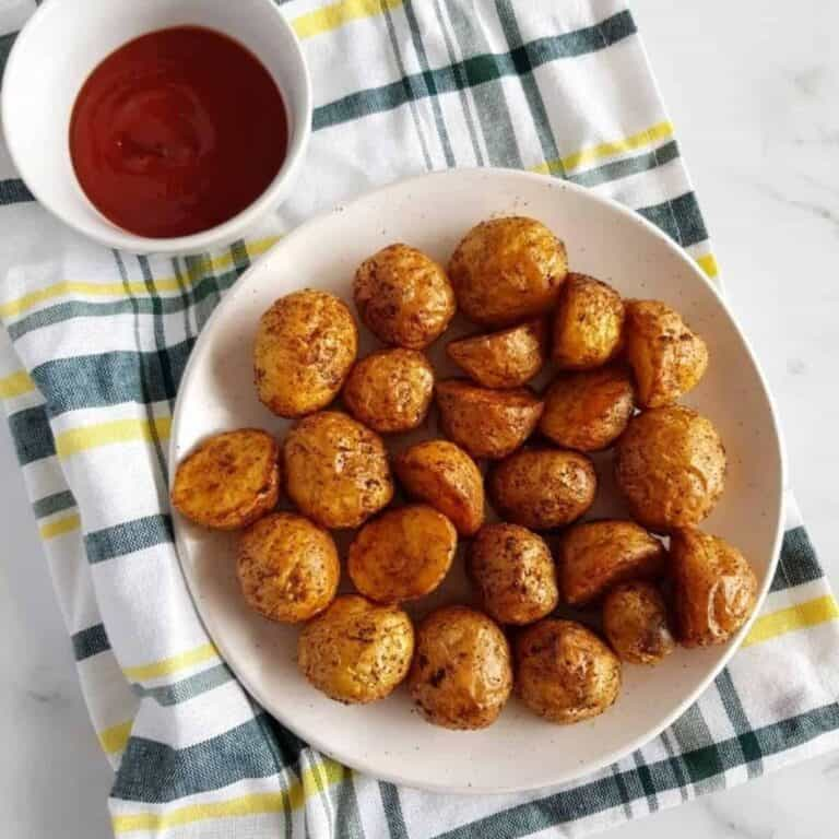 Air Fryer Potatoes.