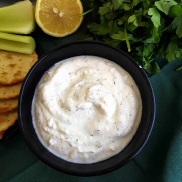 Cottage Cheese Dip.