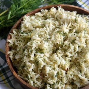 Dill rice.