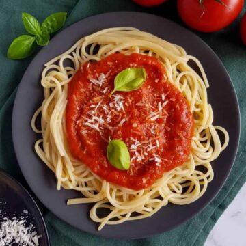 Healthy Spaghetti Sauce.