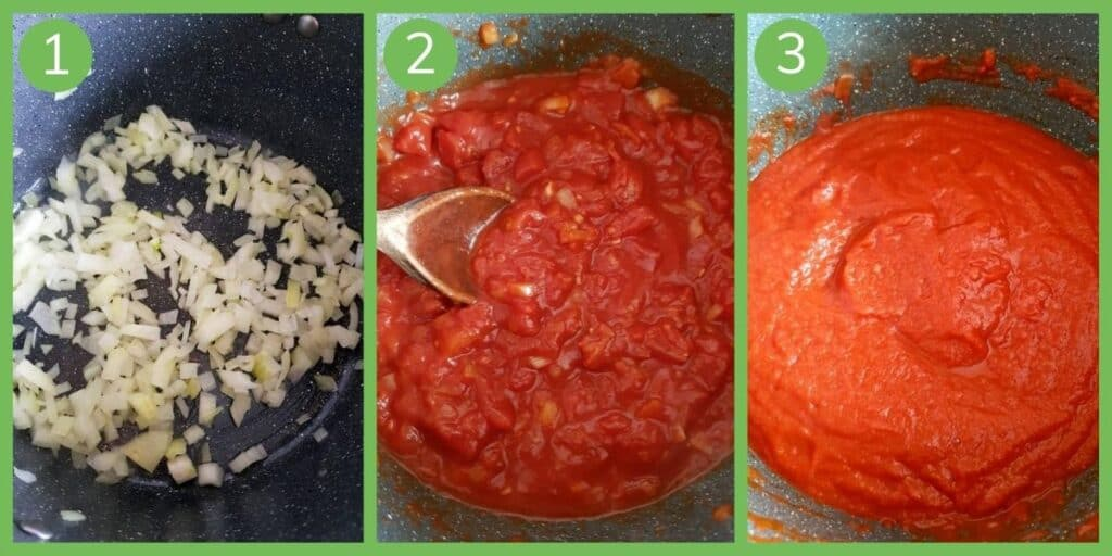 How to make healthy spaghetti sauce.