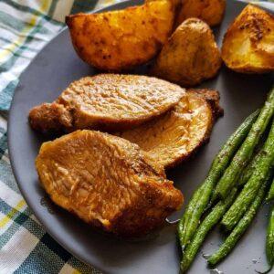 Air Fryer Pork Tenderloin.