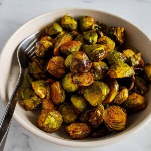 Honey Sriracha Brussels Sprouts.