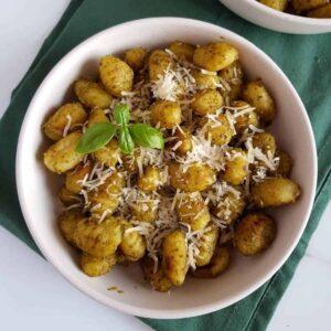 Pesto Gnocchi.