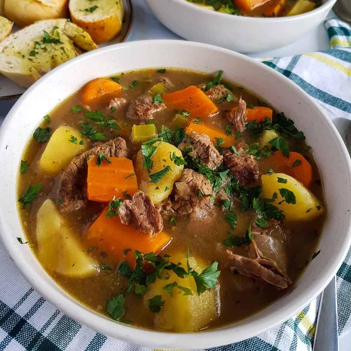 Slow Cooker Beef Stew Hint Of Healthy