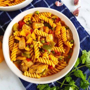 Chicken Curry Pasta