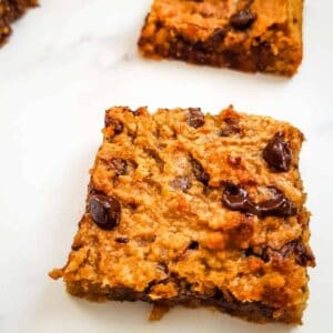 Chickpea Blondies.