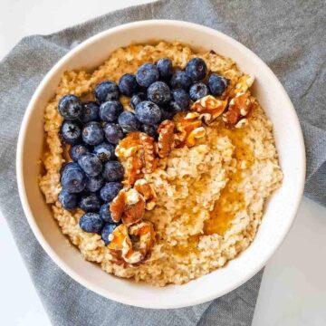 Flaxseed oatmeal
