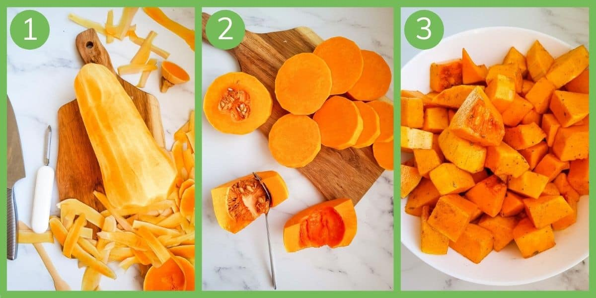 How to make air fryer butternut squash.
