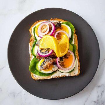 Sardine Sandwich.