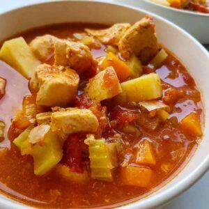 Slow Cooker Chicken Stew.