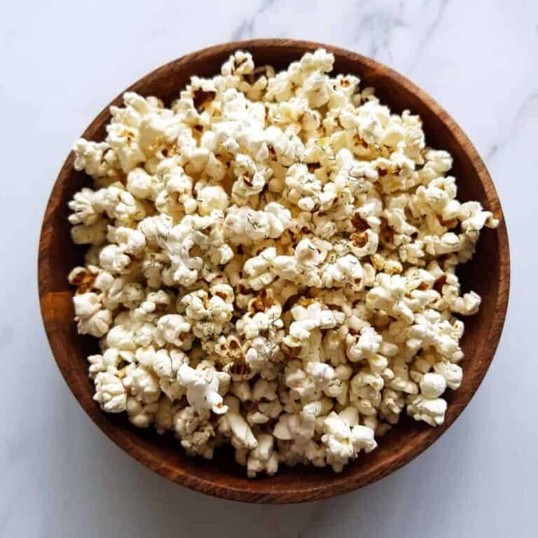 Dill Pickle Popcorn.