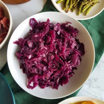 Slow Cooker Red Cabbage.