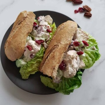 Cranberry Chicken Salad.