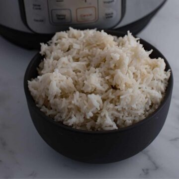 Instant Pot Basmati Rice.