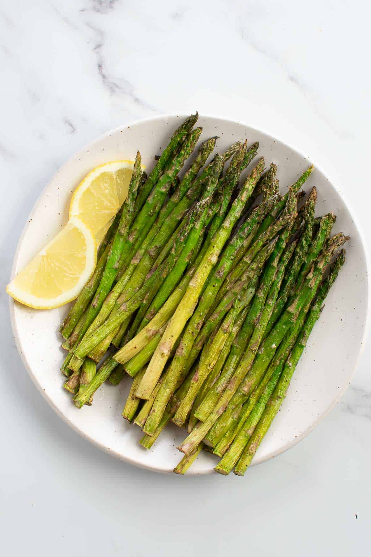 The BEST Air Fryer Asparagus   So Easy   Hint of Healthy