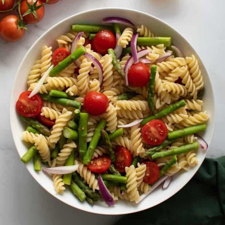 Asparagus Pasta Salad.