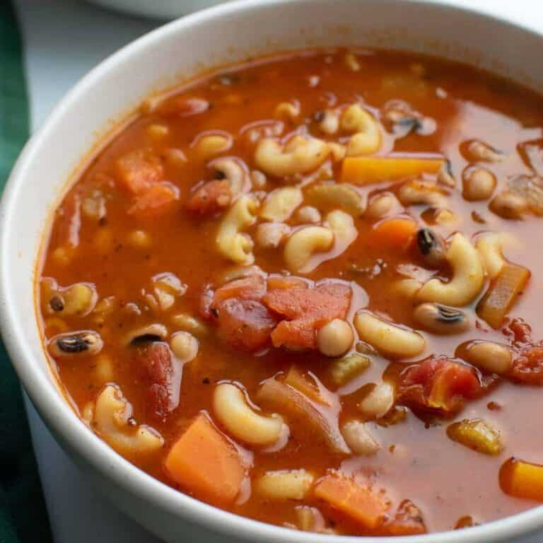 Black Eyed Pea Soup.