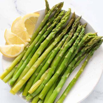 Instant Pot Asparagus.