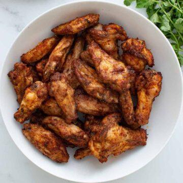 Cajun Chicken Wings.