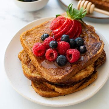 Healthy French Toast.