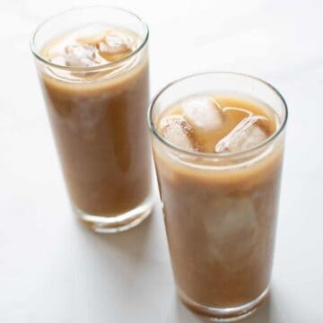 Iced Caramel Latte.