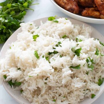 Instant Pot Cilantro Lime Rice.