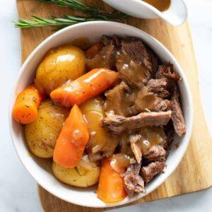 Instant Pot Pot Roast.
