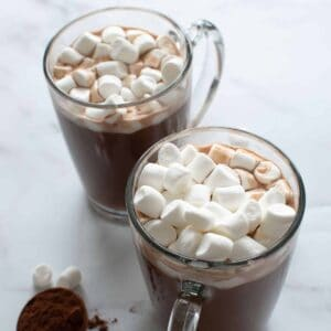 Sugar Free Hot Chocolate.