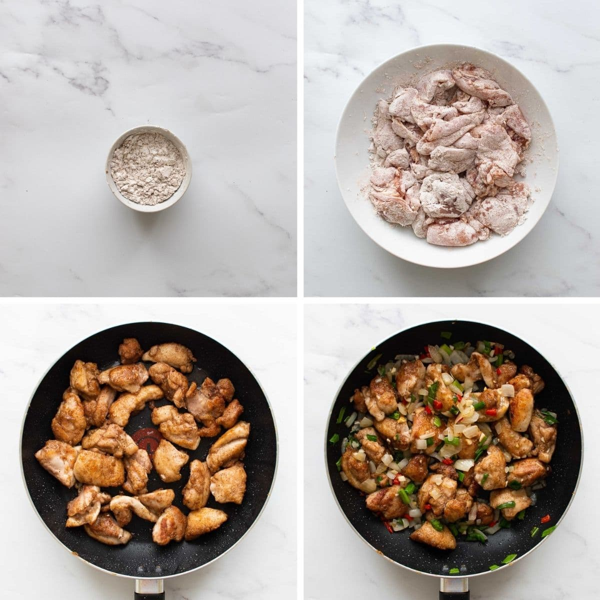 How to make salt and pepper chicken thighs.