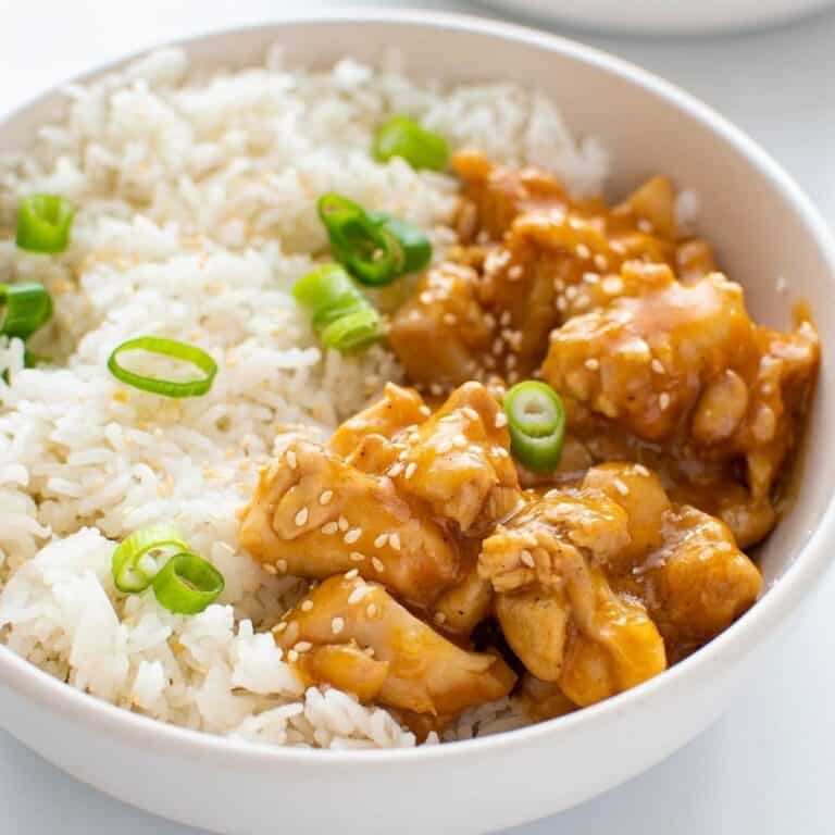 Instant Pot Orange Chicken.