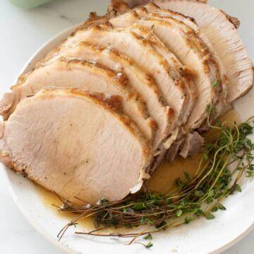 Instant Pot pork roast.