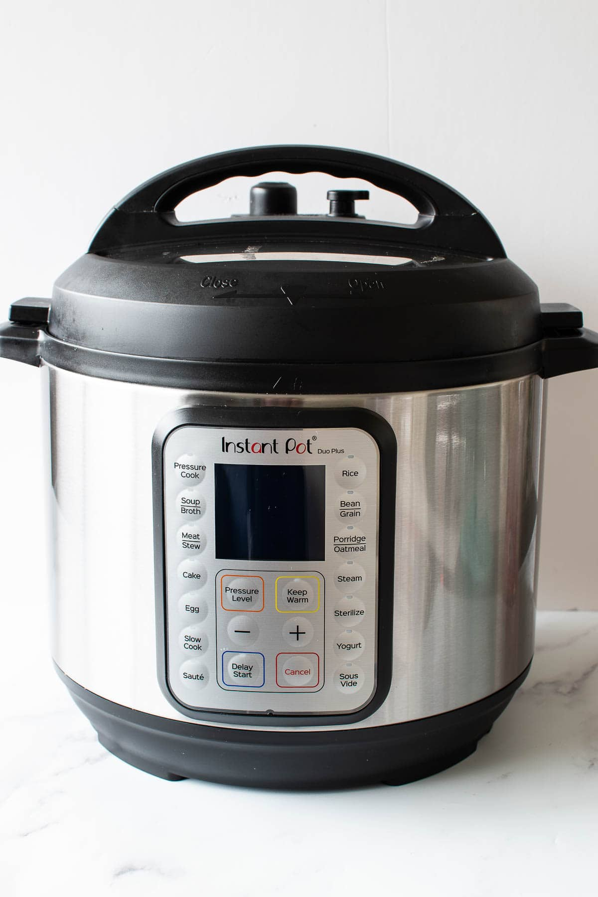 Instant Pot turned off.