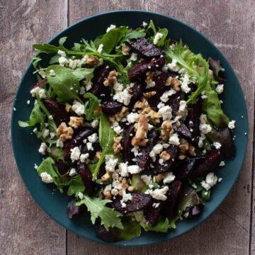 Beetroot and Feta Salad.