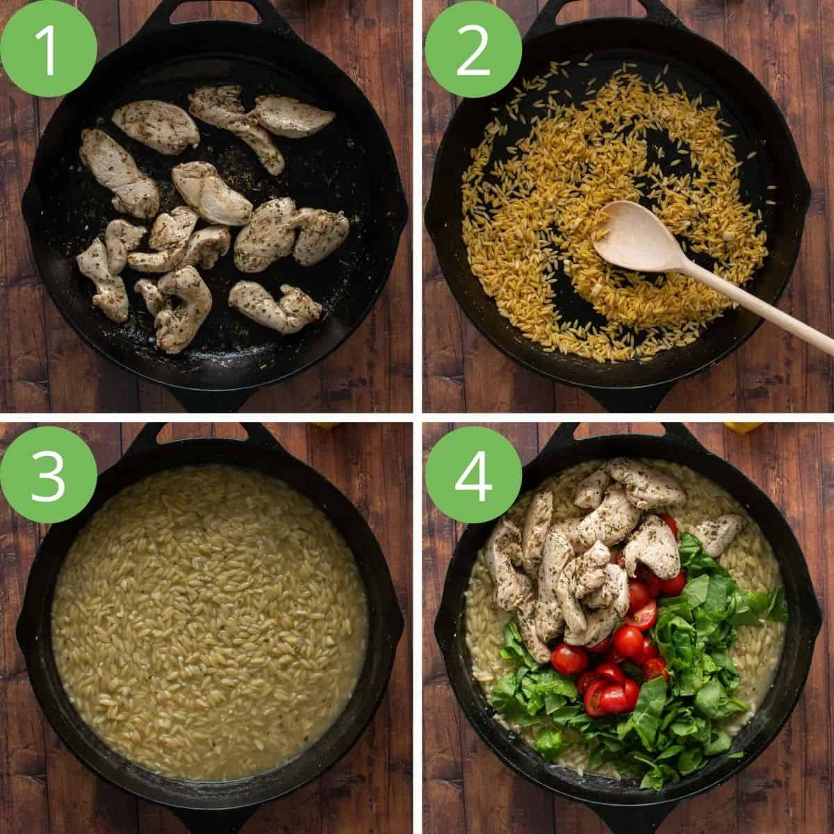 Step by step showing how to make this recipe.
